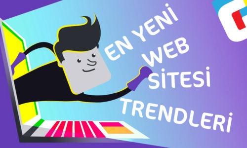 En Yeni Web Sitesi Trendleri