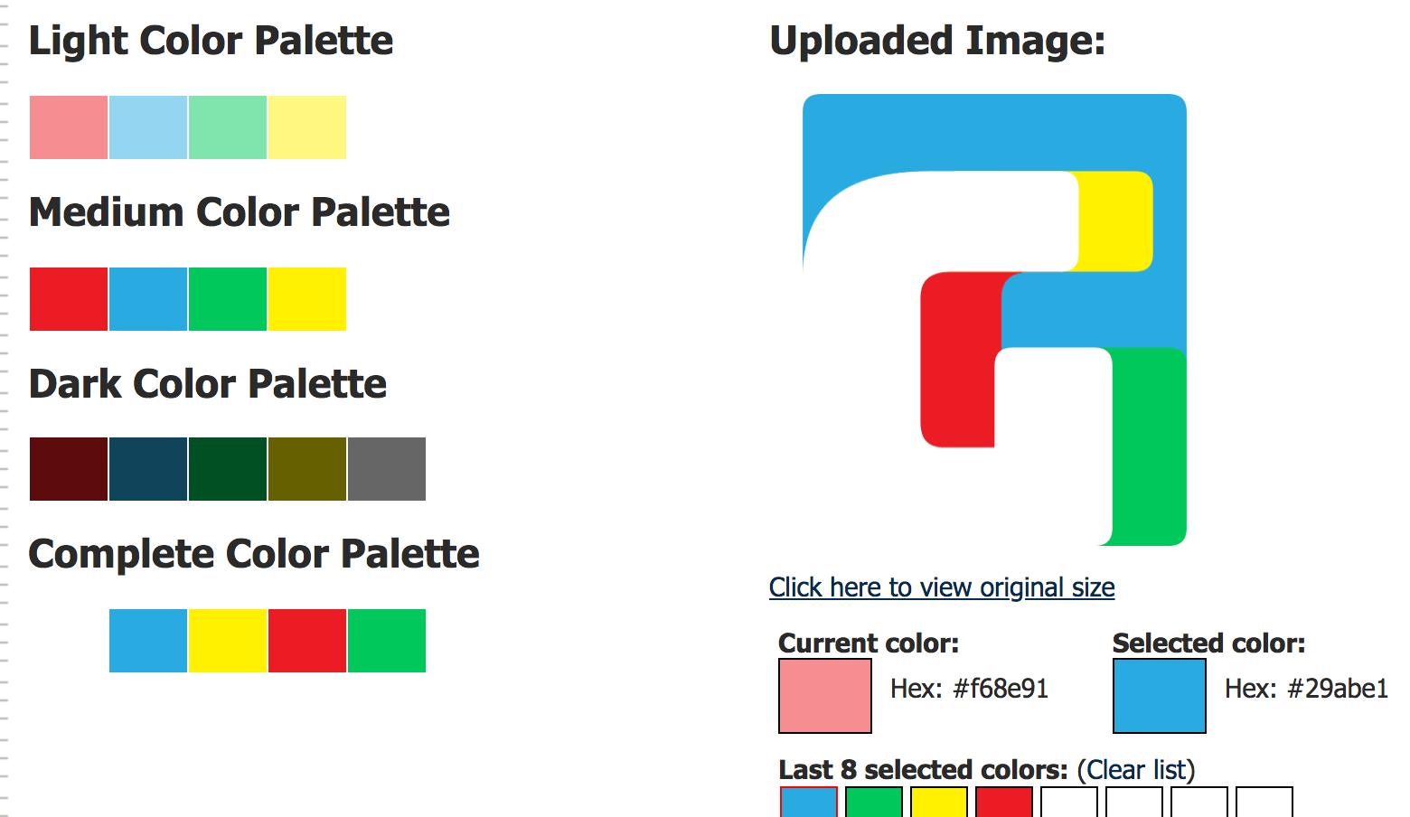 Renk Uyumu Colors Palette Generator