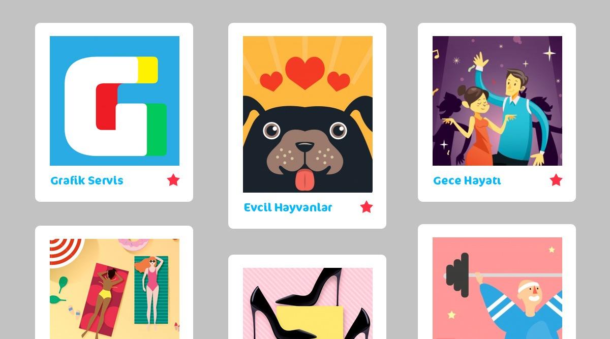 Lead Odaklı Web Tasarım Pinterest Tarzı Sayfalar